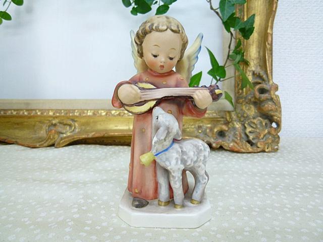 高級陶磁器人形フンメル人形 エンジェルセレナーデ