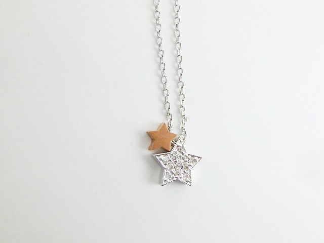 star necklace ネックレス 星